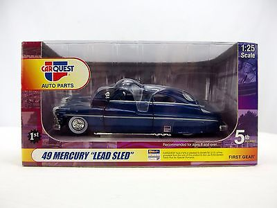 Fundamental Belongings CarQuest Auto Parts '49 Mercury Lead actor Sled 1:25 Lower Diecast Downhearted