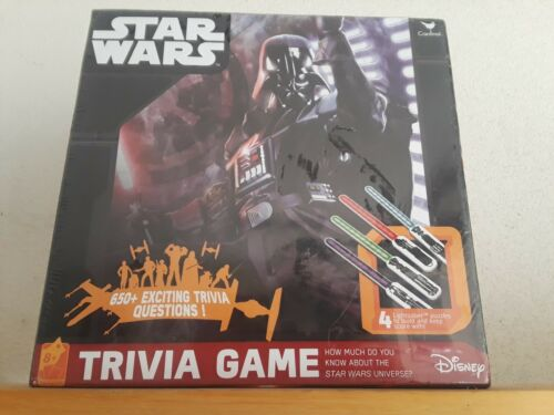 Disney Star Wars Trivia Game New Factory Sealed age 8+ -Idea