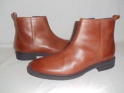 COLE HAAN MEN'S BERNARD ZIP ANKLE BOOTS WOODBURY/ BLACK SIZE 13M C28106  NIB. - Bernard Boots
