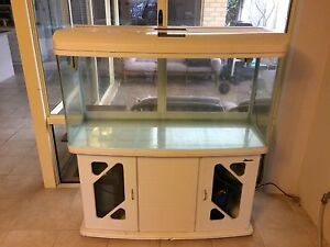 200L Fish Tank with filter, accessories, stand and lid/cover Iluka Joondalup Area Preview