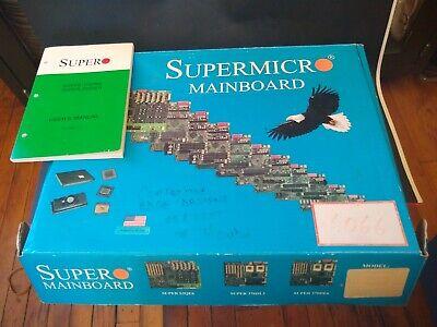 SUPERMICRO 370DE6 DUAL P3 Motherboard 4GB SCSI