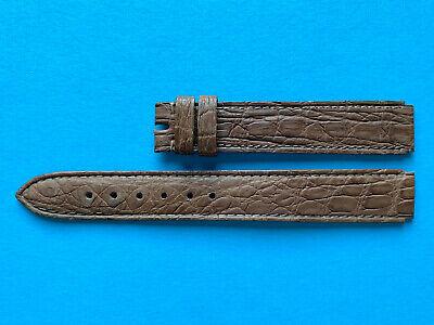 IWC Original Kroko Uhrband braun 13 mm für kleine Da Vinci Ref. 3736