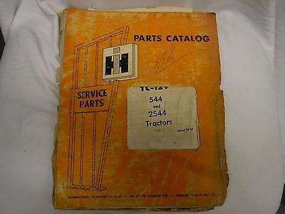 Tc-129 International 544 2544 Tractor Parts 1967 Catalog