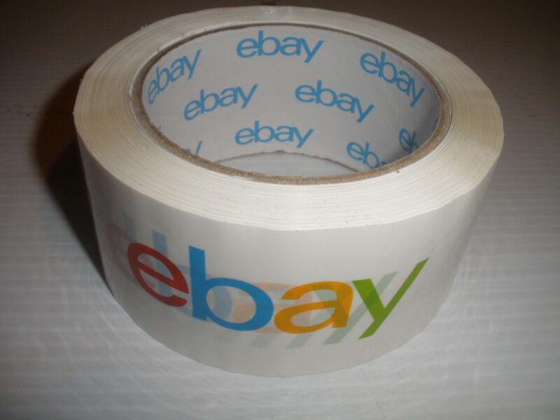 """New 1 ROLL  eBay Branded Packaging Shipping Tape! 2"""" x 75 Yards  packing"""