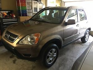2003 Honda CRV EX-L FULLY LOADED, ONE OWNER