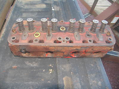 International Ih Farmall Tractor Engine Head H Super H