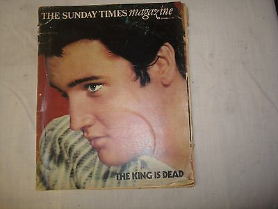 elvis supliment in sunday times magazine