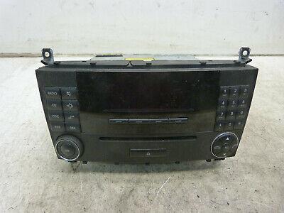 Radio A2038704589 MF2730 86Tkm Mercedes W203 CLC CL C 180 08.1354.073