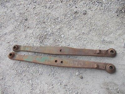 John Deere 40 Tractor Jd Original Bottom 3pt Hitch Lift Arms Arm M1733 1734t