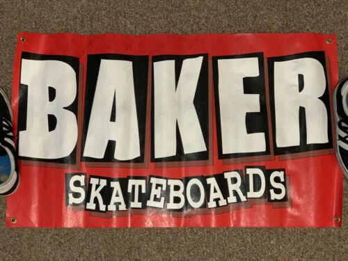 Baker Skateboards 36x21in Tyvek Paper Banner POP