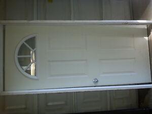 """34"""" exterior door and screen door"""