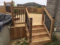 Custom deck design and build