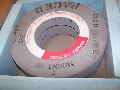 2 New Pacer 16 X 3 X 7-12 Paper Mill Resin Grinding Wheel C100-11pm2