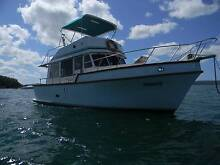 Fairhaven 32 semi displacement trawler style flybridge cruiser Thorneside Redland Area Preview