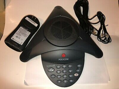 Polycom Soundstation2 2201-15100-601 Display Conference Telephone Wwall Adapter