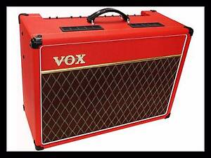 Vox AC15C1 Limited Edition Classic Red Combo Valve Amp. Norwood Norwood Area Preview