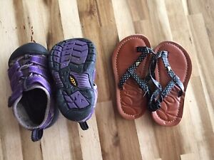 Size 5t Keen's and Roxy