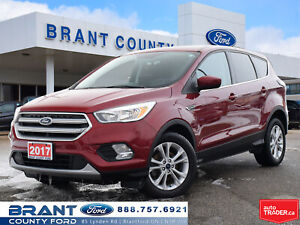 2017 Ford Escape SE - BACK UP CAM!