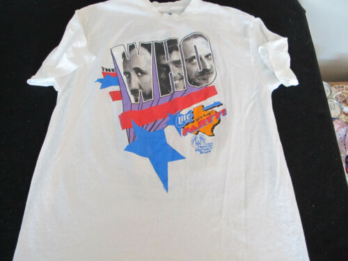 """BGP """"The Who"""" Party T-shirt for Special Olympics Texas 1989 XL"""