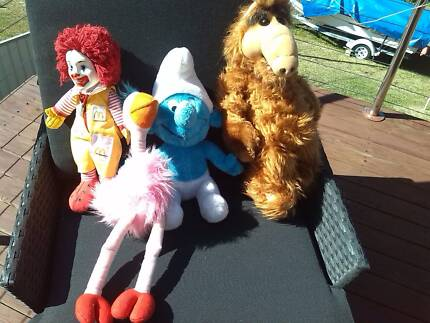 ALf and Family soft dolls, excellant cond Charlestown Lake Macquarie Area Preview