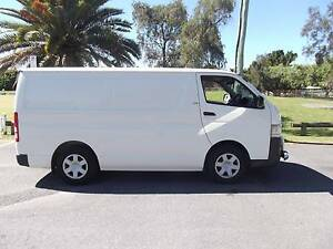 2009 Toyota Hiace Van turbo diesel low ks log books Sydney City Inner Sydney Preview