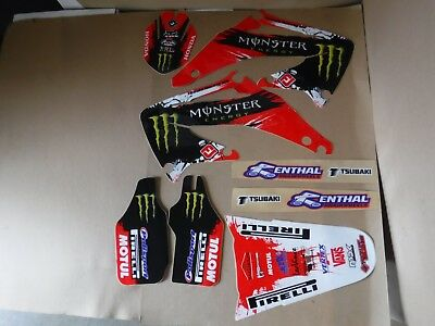 TEAM Honda graphics Honda CRF450R CRF450   2002 2003 2004