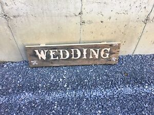 Wedding signs /barn board