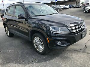 2016 Volkswagen Tiguan Comfortline - Htd Seats, Media Screen, Na