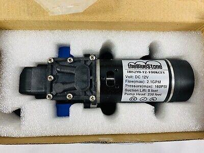 High Pressure Water Pump Micro Electric Diaphragm Pump 12v
