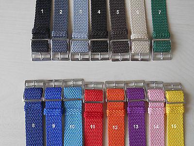 Cinturini Nato Perlon Vintage!! Nato Vintage Strap!! 16-18-20MM