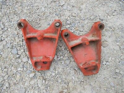 Allis Chalmers Ac Tractor Cultivator Mounting Brackets To Tractor 517557 517558