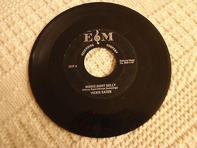MEMPHIS  VICKIE EATON MINNIE SKIRT DOLLY/IT WON'T BE LONG TILL XMAS E&M 2924 ()