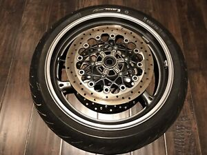 2012 gsxr 600/750 front wheel/rotors/tire