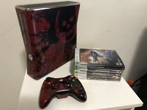 Special Edition Gears Of War Xbox 360. Controller. 5 Games