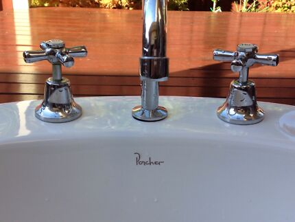 Bathroom sink and taps Boronia Knox Area Preview