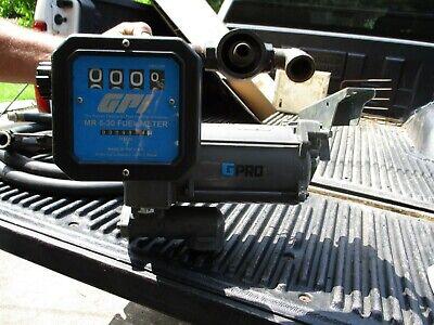 Gpro Mod Pro35-115 Fuel Transfer Pump - 34 Hp W Gpi Mr5-30 Meter Hose Nozzle