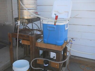 Home Brewery for Sale, Sanyo Kegerator , Keg  Too much to list $1500