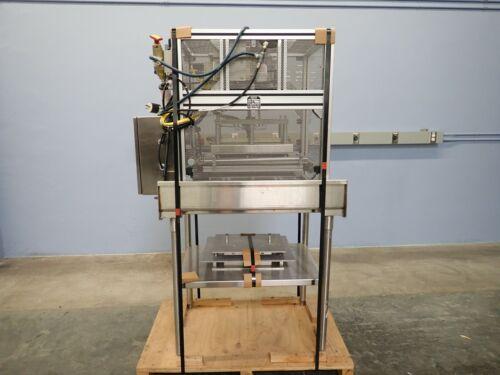 Alloyd 1S 1216 Shuttle Style Blister Heat Sealer on stainless Cart (230v/1ph)