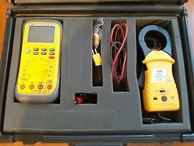 Dm 520 True Rms Digital Multimeter Uei Ca 40 Acdc Current Probe Kit