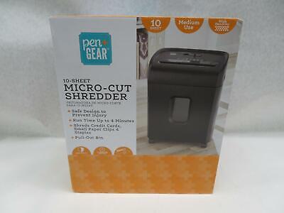 Pen Gear C224-a 10-sheet Micro Cut Paper Shredder Model