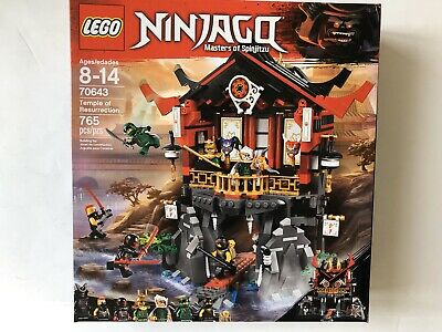 LEGO Ninjago Temple of Resurrection 70643 - New Sealed