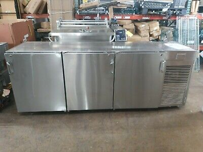 Used Infinity Iblrs-3d-ssd Stainless Steel High Back Bar Cooler