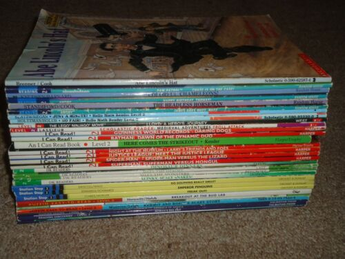 Lot 30 Level 2 Step Into Reading I Can Read DK Reader Home School Discovery