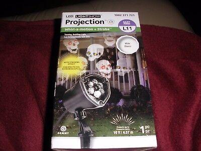 LED Projector Chasing Skull Strobe Outdoor Landscape - Strobe Lichterkette