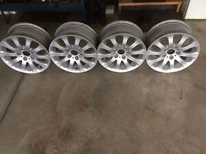 "Bmw 3 series rims 17"" original priced to sell"