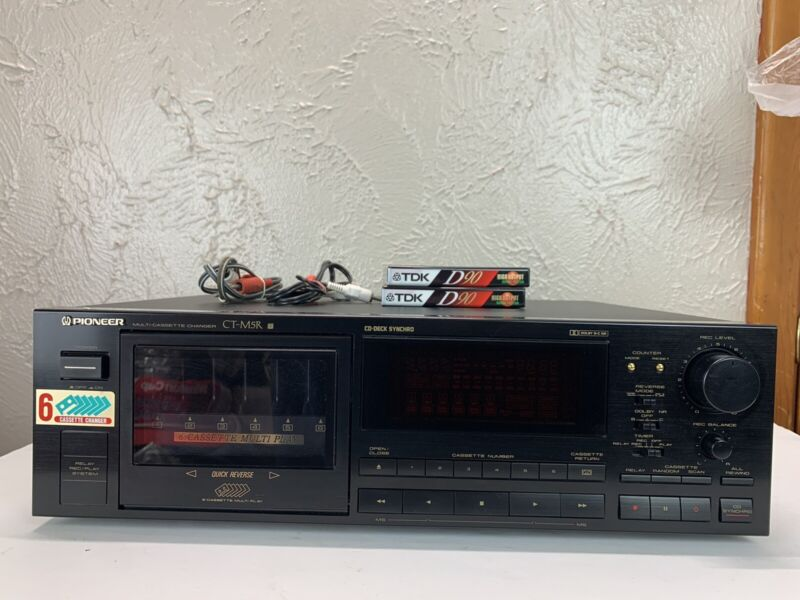 Vintage Pioneer CT-M5R  - 6 Cassette Changer