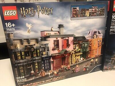 READ BOXES ONLY Lego Harry Potter Hogwarts Castle 71043 Diagon Alley 75978