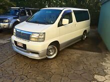 Nissan Elgrand 1999 3.2litre Turbo Diesel, 8 Seats. Automatic. Mooloolaba Maroochydore Area Preview