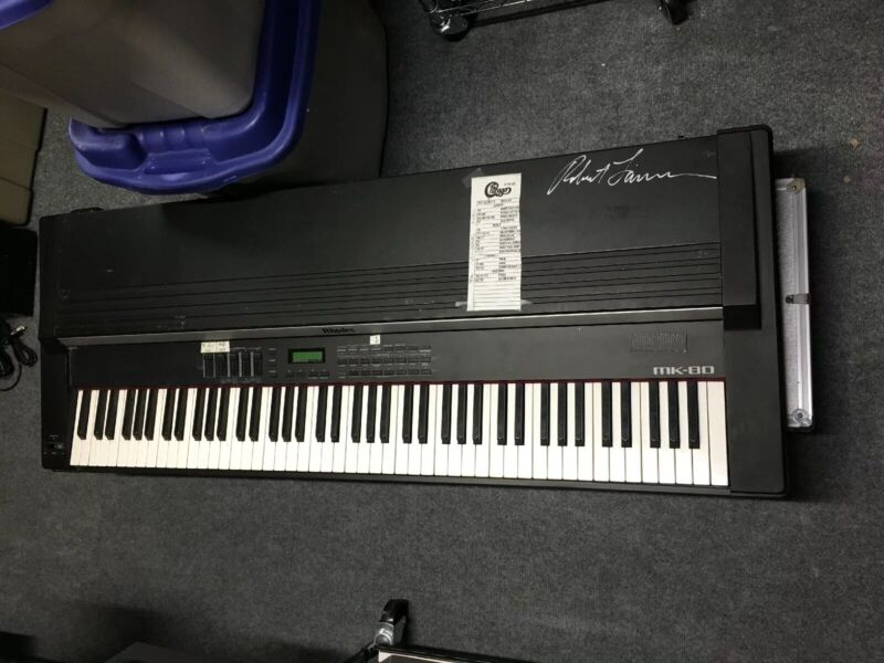 Rhodes ROLAND MK-80 1980s Electric keyboard Signed/used By Robert Lamm