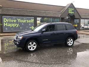 2017 Jeep Compass High Altitude Edition / 4X4 / LEATHER/ SUNROOF